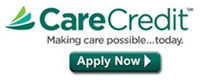 Financing through care credit